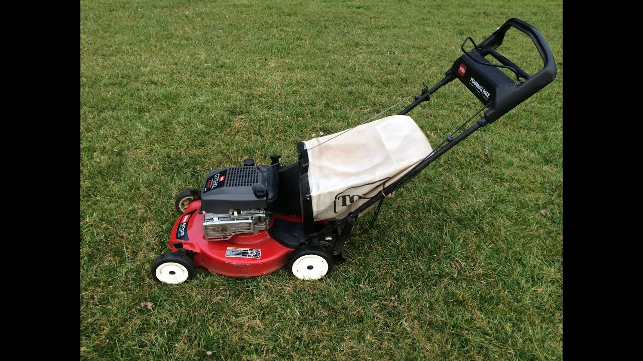 Toro Personal Pace Gts Xl 21 Recycler Lawn Mower Final Look Start March 17 2017