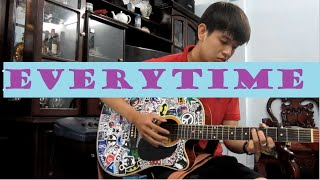 CHEN (EXO) & Punch - Everytime MV (Descendants of the Sun OST) Guitar fingerstyle