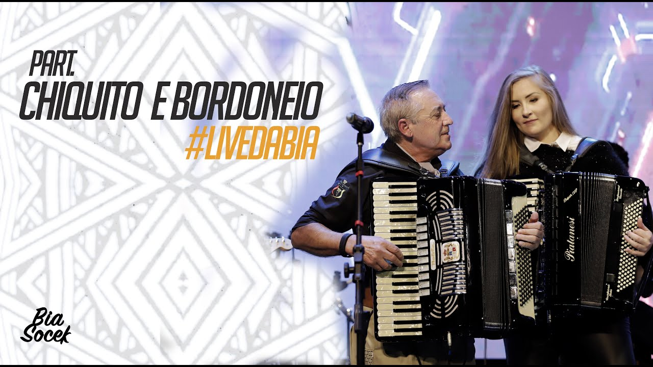 Bia Socek - Part. Chiquito e Bordoneio #livedabia
