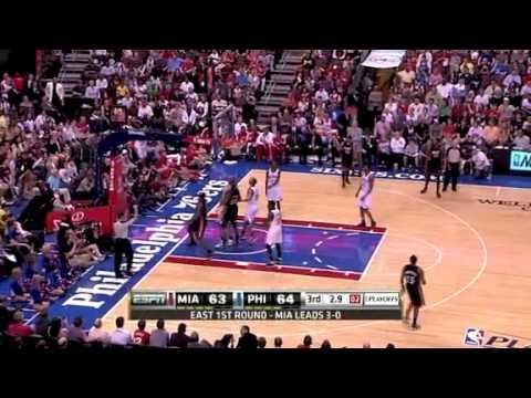 NBA Playoffs 2011: Miami Heat Vs Philadelphia Sixers Game ...