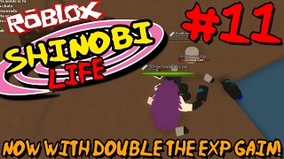 NOW WITH DOUBLE THE EXP GAIN! | Roblox: Shinobi Life (Naruto) - Episode 11