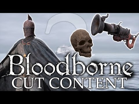 Bloodborne Cut / Unused Content ►WEAPONS AND ARMOR SETS! (Never-Seen-Before)