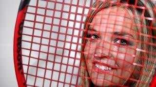 Alexandra Héczey - Tennis training: Moving - Smash - Serve