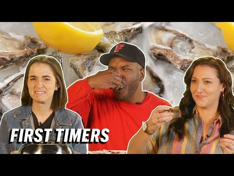 5 People Try Oysters For The First Time || First Timers