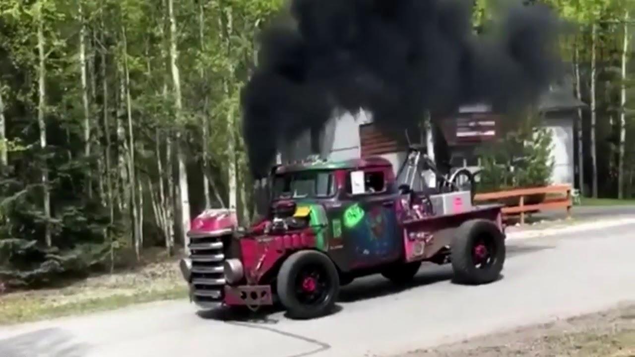 Amazing Rat Rod Diesel Trucks