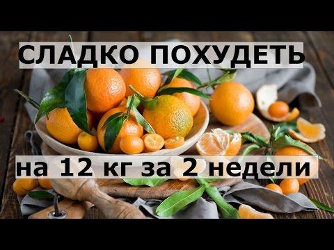 """Сладко похудеть на 12 кг за 2 недели на """"солнечных плодах"""".Мандариновая диета."""
