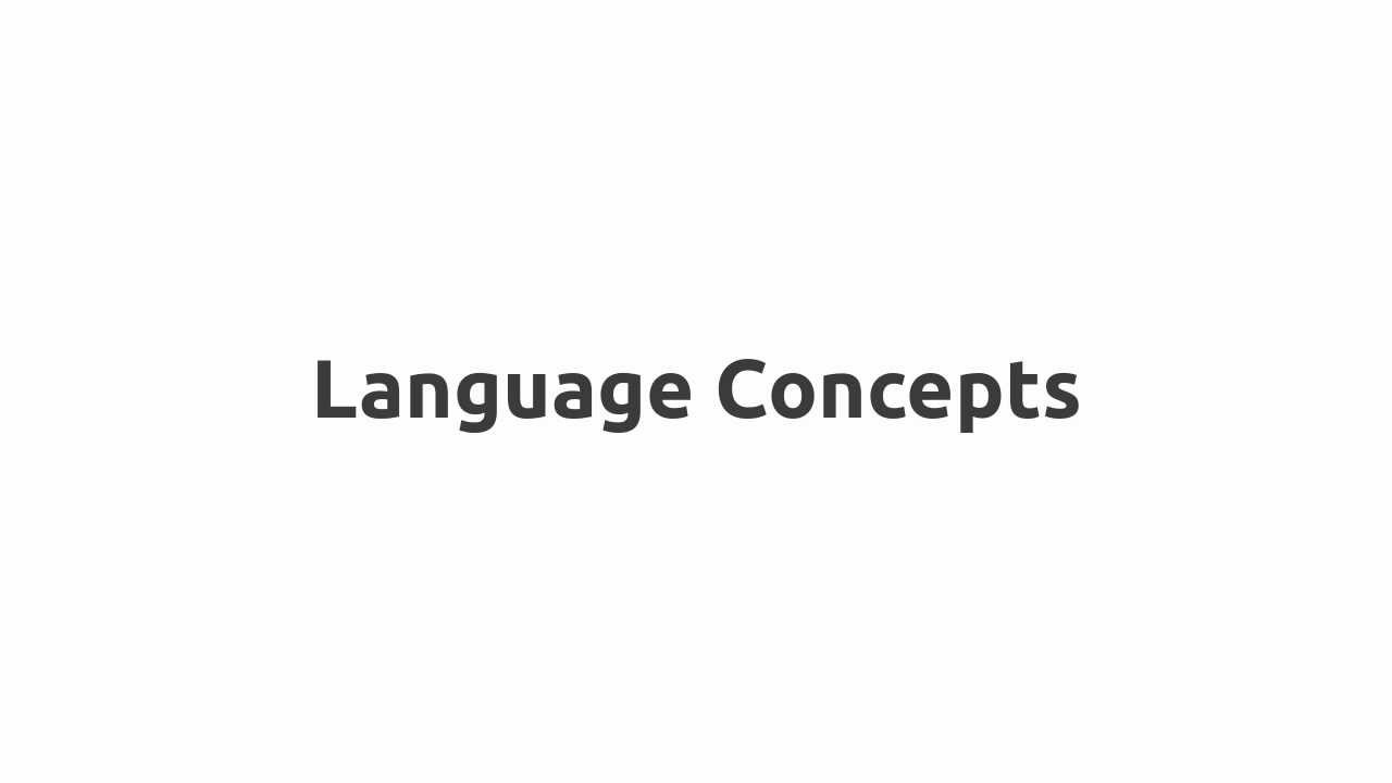 Flow Chart And Algorithm: Language Concepts - YouTube,Chart