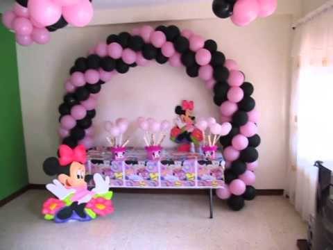 Ideas Para Decorar Fiesta De Minnie Mouse