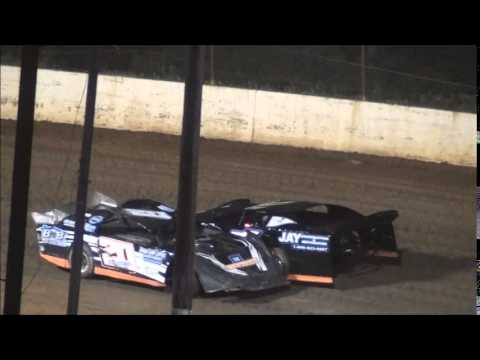 Pro Late Model Heat #1 from Ponderosa Speedway 6/13/14.