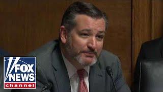 Cruz rips Senate Democrats' 'weak argument' at Barr hearing