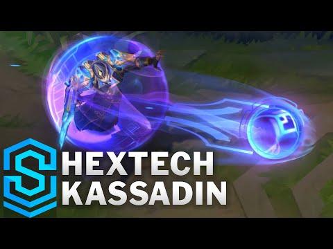 Hextech Kassadin Skin Spotlight - Pre-Release - League of Legends
