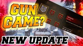 GUN GAME! WE FINALLY GET GUN GAME IN CALL OF DUTY: WW2