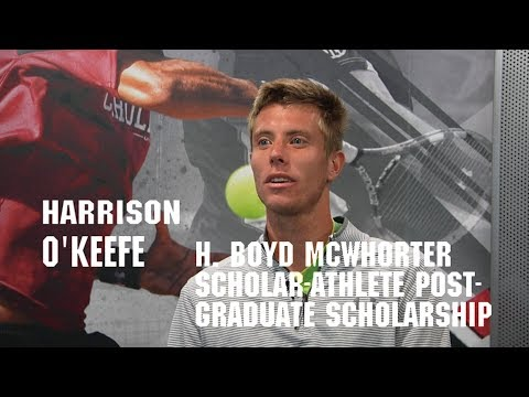 South Carolina's SEC H. Boyd McWhorter Scholarship Finalist Harrison O'Keefe