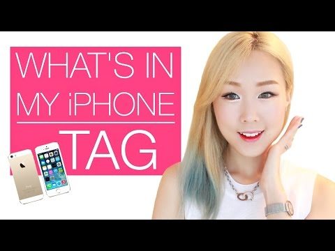 What's in My iPhone? Fave Apps | 미정이의 휴대폰: 자주 즐겨쓰는 앱 추천