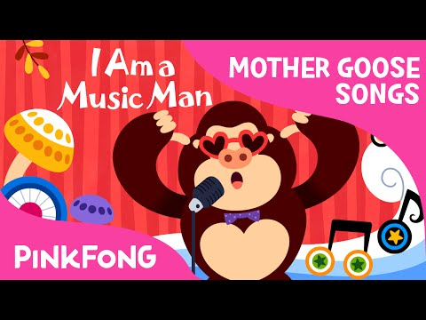I Am a Music Man | Mother Goose | Nursery Rhymes | PINKFONG Songs for Children