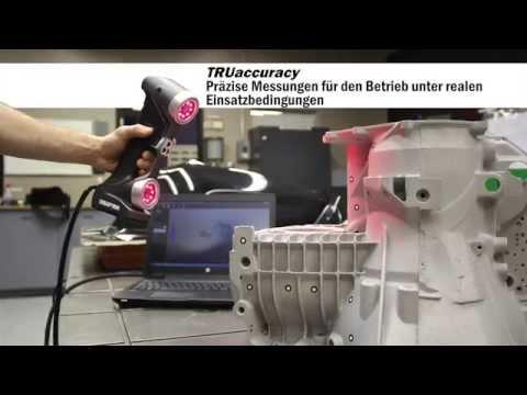 HandySCAN3D: Die tragbaren, Messtechnik-geeigneten 3D-Scanner