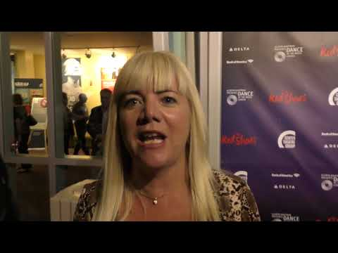 Jennifer Elise Cox talks about her role on the Brady Bunch at The Red Shoes  night at Ahmanso