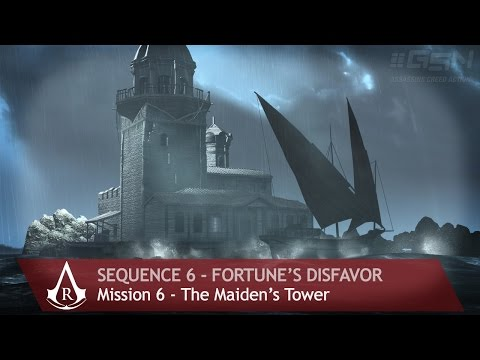 Assassin's Creed: Revelations - Sequence 6 - Mission 6 - The Maiden's Tower (100% Sync)