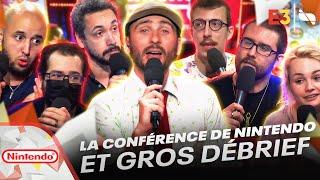 #E3JV La conférence de Nintendo et gros débrief à chaud ! 🎮   Nintendo Direct