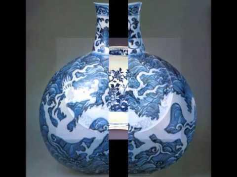 Vintage Porcelain Blue | Picture Ideas Of Rare Decorative & Beautiful Art