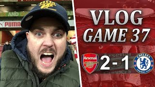 ARSENAL 2 v 1 CHELSEA - IT'S ANOTHER TRIP TO WEMBLEY - MATCHDAY VLOG