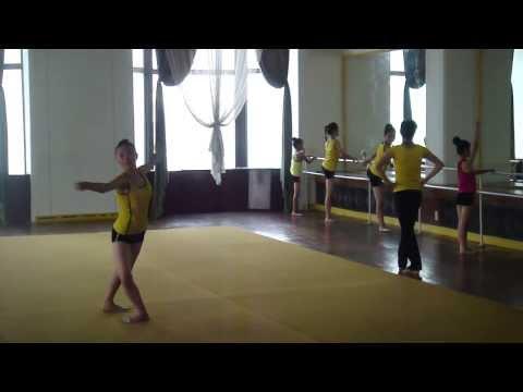 Gymnastics Practice At North Korea's Mangyongdae Children's Palace