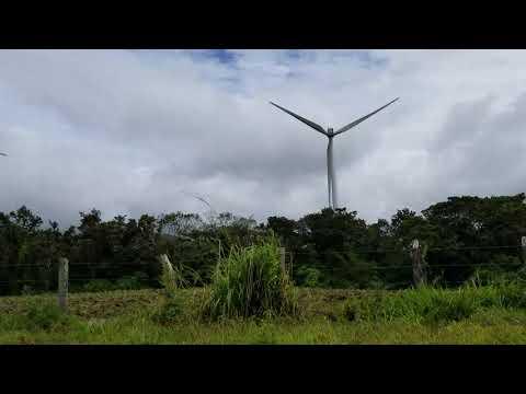 Wind Farm, Rincón de la Vieja, Costa Rica