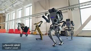 قايسىسىنى بەكرەك ياقتۇردىڭىز؟ | Uyghur Dancing Robot Boston Dynamics