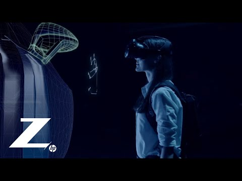 HP Z VR Backpack -  VR Has Evolved To Set You Free