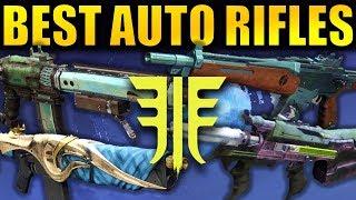 Destiny 2: BEST AUTO RIFLES in Forsaken!
