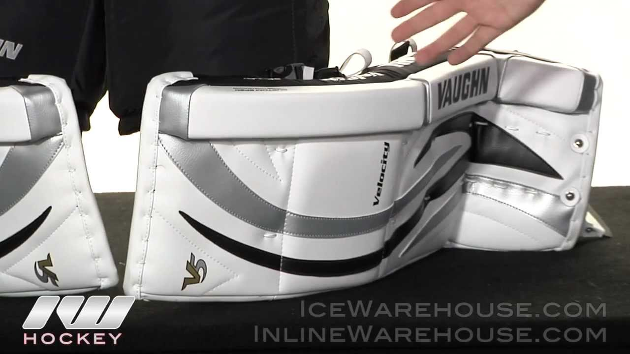 Vaughn Velocity V5 7490 Goalie Leg Pad Review