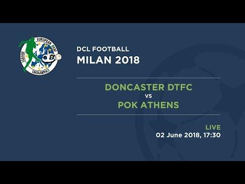 Football 2018 | Final | Match 39 | Doncaster DTFC - POK Athens