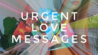 URGENT LOVE MESSAGES // What's going on in this connection? // PICK A CARD Tarot (timeless)