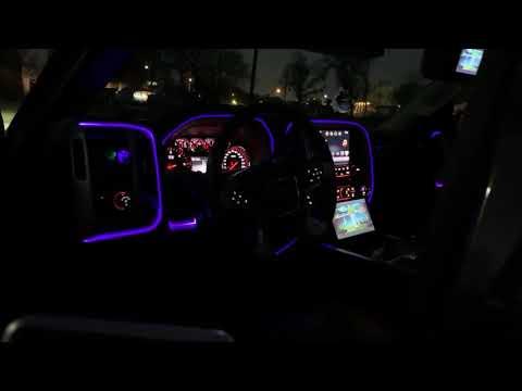 GMC Sierra Ambient Lights On Dash
