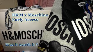 H&M x Moschino Early Access
