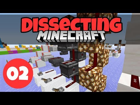 Dissecting Minecraft #2: More Basic Redstone Components