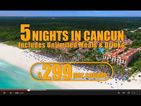 Cancun Inclusive Vacation Packages