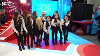 [#KCON19LA] Fancam 직캠 - LOONA at Chips Ahoy Booth
