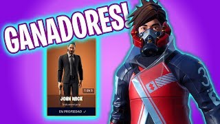 GANADORES Y VICTORIA! Fortnite Battle Royale - Luzu