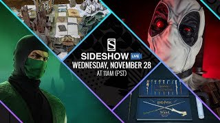 Sideshow Live: Deadpool, Wonder Woman & Black Friday