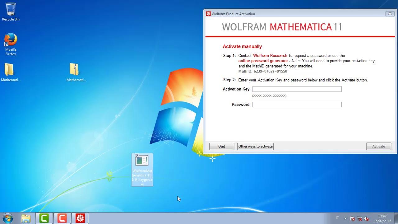 mathematica keygen 10