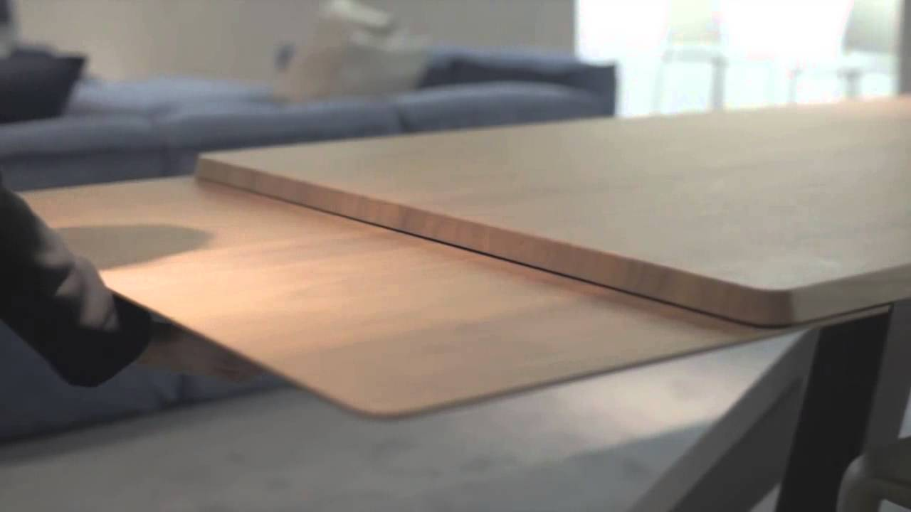 Big Table de Bonaldo. Mesa extensible - YouTube