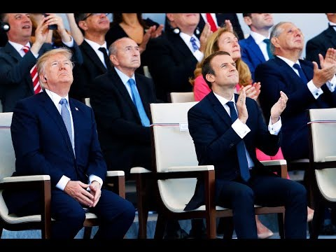 Trump Saw France's Military Parade And Now He Wants One