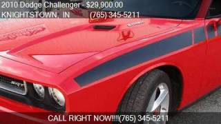 2010 Dodge Challenger SRT8 2dr Coupe for sale in KNIGHTSTOWN