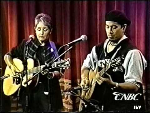JOAN BAEZ sings Don't Think Twice with Paul Pesco - Sep. 28, 1995