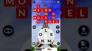 Words Of Wonders Eiffel tower   Level 1 2 3  4 5 6  7 8