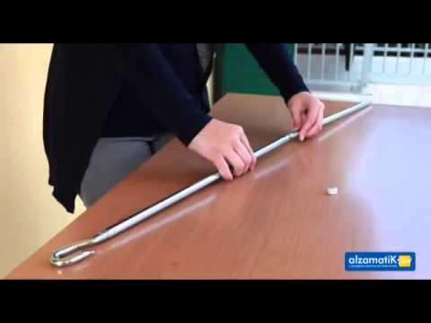 Manovella Elettrica Per Tende Da Sole.Alzamatik L Avvolgitore Automatico Per Tende Da Sole Youtube