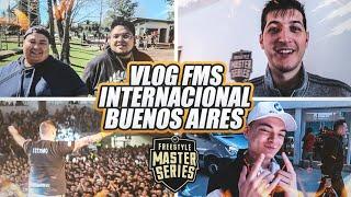 ASI VIVIMOS LA FMS INTERNACIONAL BUENOS AIRES 🇦🇷*CUMPLO UN SUEÑO 😱* | EPIC VLOG