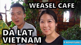 Da Lat: Weasel Cafe, Minority Village, Vietnam Vlog Ep9