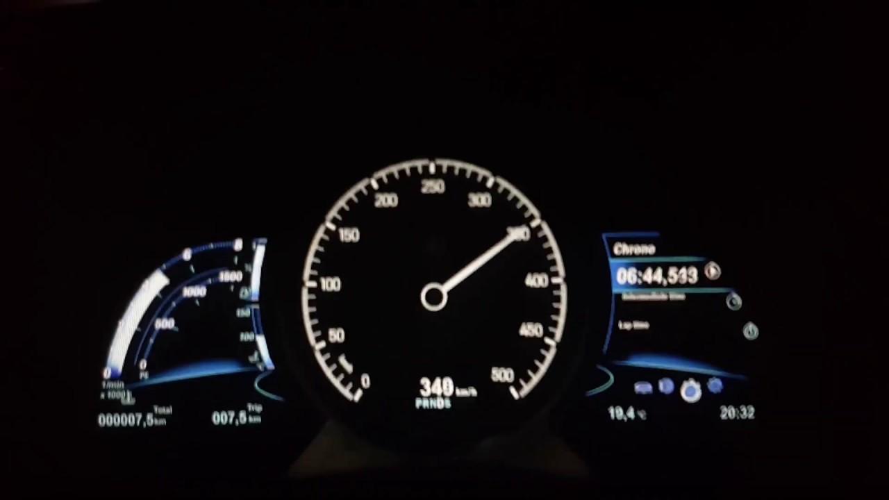 Nissan 350Z top speed VQ35DE - YouTube